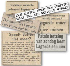 Krantenkoppen kwestie Butter Lagarde