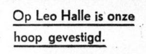 hallehoop