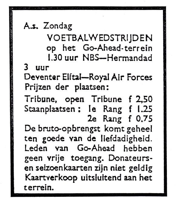 adv. wedstrijd RAF