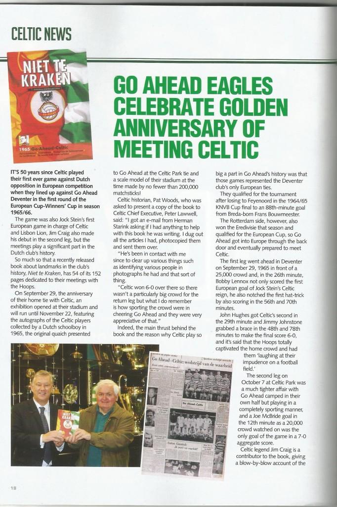Celtic programma 1